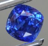 1.86ct Blue Cushion Cut Sapphire R9202