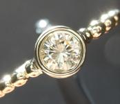 0.26ct U-V VS1 Round Brilliant Diamond R9181