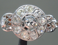 1.40ctw Vintage Diamond Ring R9213