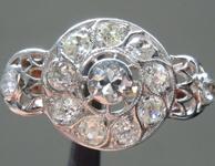 1.40ctw Vintage Diamond Ring R9213