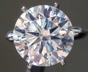 6.01ct J VS2 Round Brilliant Diamond Ring R9250