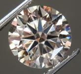 2.00ct M (Brown) VS2 Round Brilliant Diamond R9221