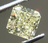 0.51ct Yellow VS2 Radiant Cut Diamond R9252