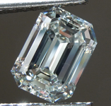 SOLD...1.14ct I IF Emerald Cut Diamond R9257
