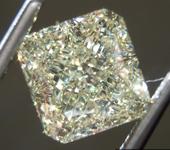SOLD.....4.01ct W-X VVS1 Radiant Cut Diamond R9288