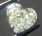 SOLD....1.61ct W-X VS1 Heart Shape Diamond R9307