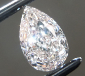 0.52ct Light Pink VS2 Pear Shape Diamond R9309
