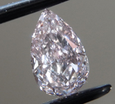 0.53ct Pink VS1 Pear Shape Diamond R9310