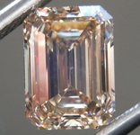 SOLD.....2.05ct Brown VS1 Emerald Cut Diamond R9349