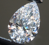 3.12ct E VS1 Pear Shape Lab Grown Diamond R9399