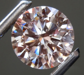 2.28ct Pink VS1 Round Brilliant Lab Grown Diamond R9400