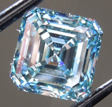 2.01ct Blue VS1 Asscher Cut Lab Grown Diamond R9410