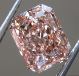 SOLD......1.91ct Pinkish Brown VS2 Radiant Cut Lab Grown Diamond R9425
