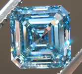1.81ct Greenish Blue VS2 Asscher Cut Lab Grown Diamond R9435