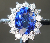 SOLD.....2.00ct Blue Oval Sapphire Ring R9368