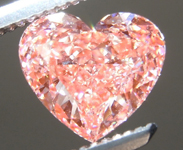 1.27ct Orangy Pink VS2 Heart Shape Lab Grown Diamond R9441