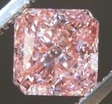 1.50ct Pink VS2 Radiant Cut Lab Grown Diamond R9443