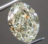 SOLD... 4.20ct U-V VS1 Oval Shape Diamond R9449