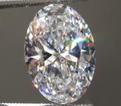 3.00ct E VS1 Oval Shape Lab Grown Diamond R9469