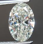 1.20ct J SI2 Oval Shape Lab Grown Diamond R9479