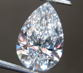 2.69ct E VS2 Pear Shape Lab Grown Diamond R9495