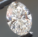 2.56ct G VS2 Oval Shape Lab Grown Diamond R9497