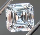 SOLD.....0.81ct E VS2 Asscher Cut Lab Grown Diamond R9504