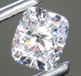 0.77ct E VS2 Cushion Cut Lab Grown Diamond R9512