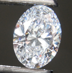 1.19ct D VS1 Oval Shape Lab Grown Diamond R9513