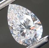 1.09ct E VS1 Pear Shape Lab Grown Diamond R9519