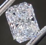 1.02ct D VVS2 Radiant Cut Lab Grown Diamond R9520