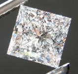 1.14ct E VS1 Princess Cut Lab Grown Diamond R9525