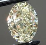 SOLD... 1.70ct Y-Z VS2 Oval Shape Diamond R9525