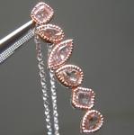 0.66ctw Pink Diamond Pendant R8993