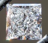 3.52ct E VS1 Princess Cut Lab Grown Diamond R9585
