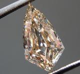 SOLD...2.11ct Brown VS1 Shield Diamond R9599