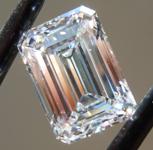 SOLD....4.16ct E VVS2 Emerald Cut Lab Grown Diamond R9632