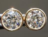 2.09ctw E SI1 Round Brilliant Lab Grown Diamond Earrings R9624