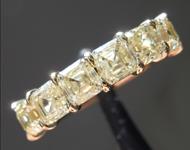 2.35ctw Yellow VS Asscher Cut Diamond Ring R9635