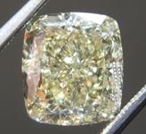 4.03ct Y-Z VVS2 Cushion Cut Diamond R9665