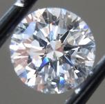 0.66ct D VS2 Round Brilliant Lab Grown Diamond R9653