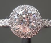 0.89ct M VS2 Round Brilliant Diamond Ring R9364