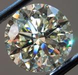 3.01ct U-V VS2 Round Brilliant Diamond R9743