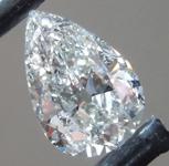 1.21ct I I2 Pear Shape Diamond R9751