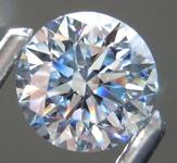 3.01ctw H (Blue) VS1 Round Brilliant Lab Grown Diamond Earrings R9787