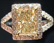 1.40ct Y-Z VS1 Princess Cut Diamond Ring R2308