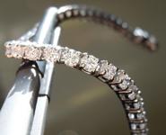 7.03ctw E-F VS1 Round Brilliant Lab Grown Diamond Bracelet R9807