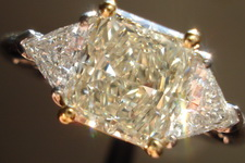 SOLD....Diamond Special: 1.25ct SI1 Radiant Cut U-V Light Yellow Diamond R1840