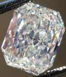 SOLD....2.16ct Faint Yellow Radiant Cut Diamond GIA Report- Large Corners R1956