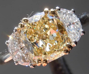 SOLD... 1.59ct Y-Z VVS2 Cushion Cut Diamond Ring R1335